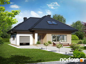 Projekt dom w lilakach gpd ver 2  260lo