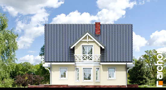 Elewacja boczna projekt dom w borowikach ver 2  266