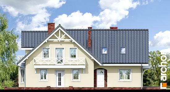 Elewacja frontowa projekt dom w borowikach ver 2  264