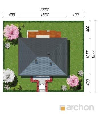 projekt Dom pod jarząbem (N) sytuacja
