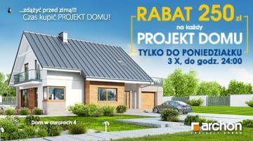 Projekt domu z rabatem