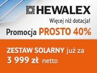 Zestawy solarne Hewalex