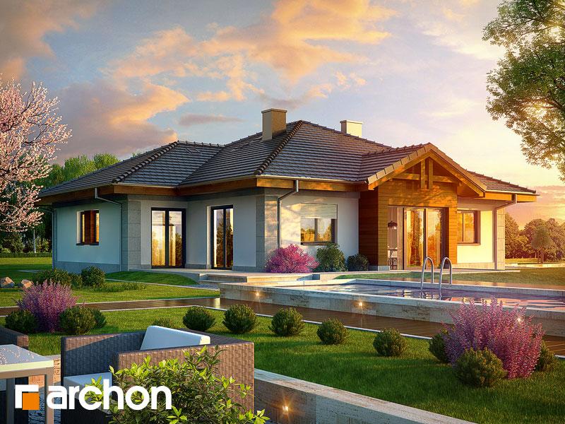 gotowy projekt Dom w jonagoldach (G2) widok 1