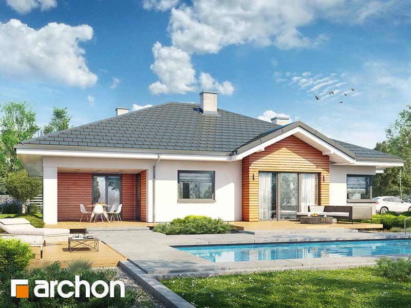 gotowy projekt Dom w jonagoldach 4 (G2) widok 1