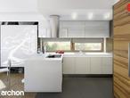 projekt Dom w amarylisach Aranżacja kuchni 2 widok 2