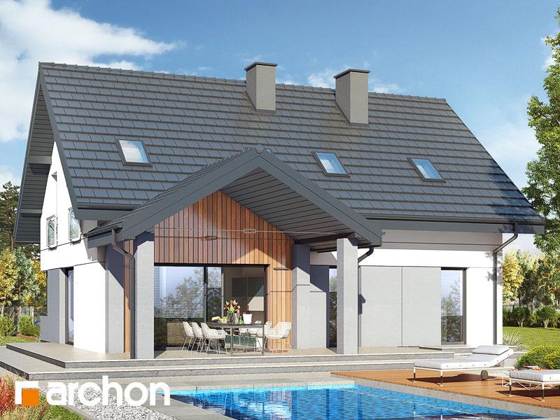 gotowy projekt Dom w malinówkach 16 (G) widok 2