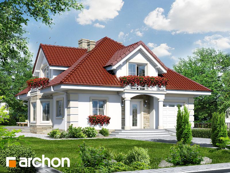 projekt Dom w tymianku 3 widok 1