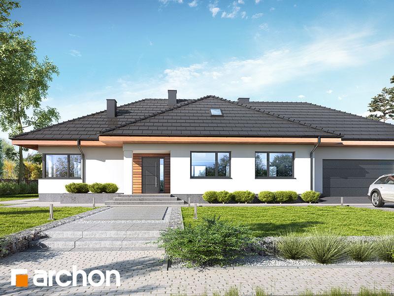 gotowy projekt Dom w alwach 5 (G2) widok 1
