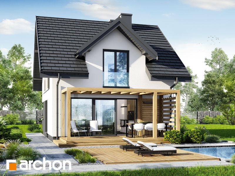 gotowy projekt Dom w borówkach 6 widok 2