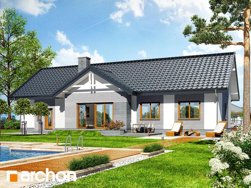 gotowy projekt Dom w nerinach 2 (G2) widok 1