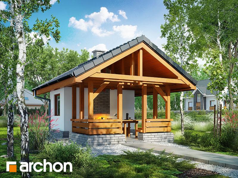Projekty altan ogrodowych, altanek - ARCHON+