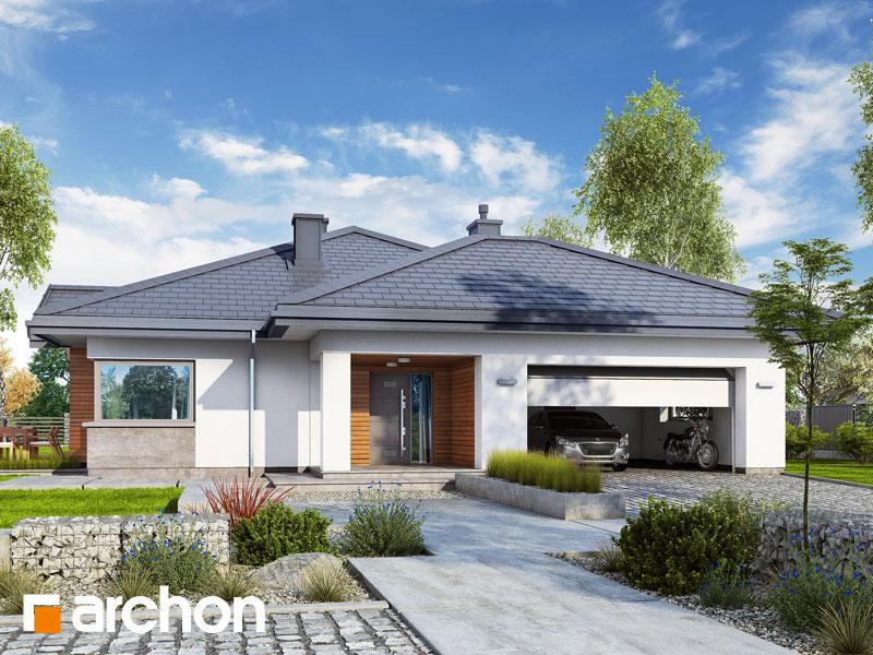 projekt Dom w jonagoldach 3 (G2) widok 1