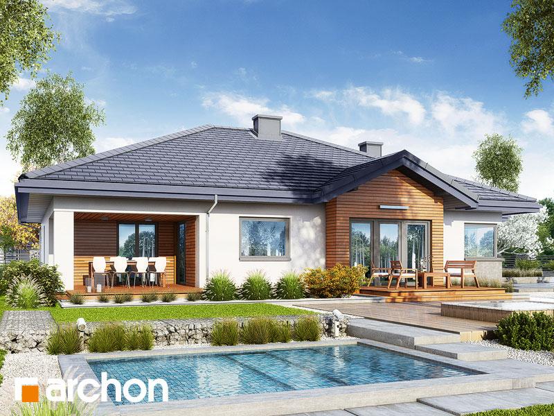 gotowy projekt Dom w jonagoldach 3 (G2) widok 2