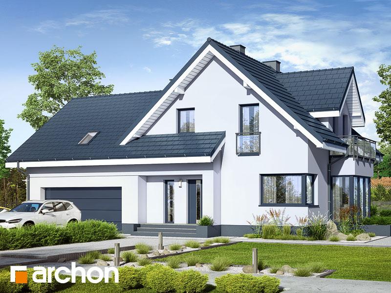 gotowy projekt Dom w tamaryszkach 2 (G2NA) widok 1