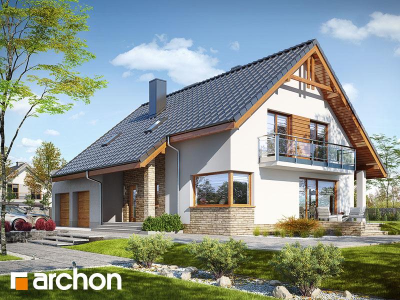 gotowy projekt Dom w idaredach 8 (G2P) widok 1