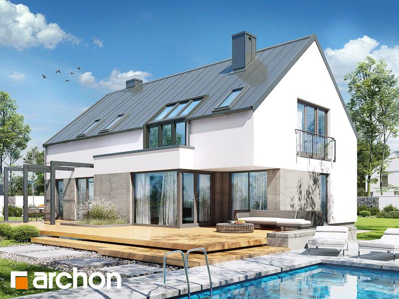 gotowy projekt Dom w marantach 2 (G) widok 1