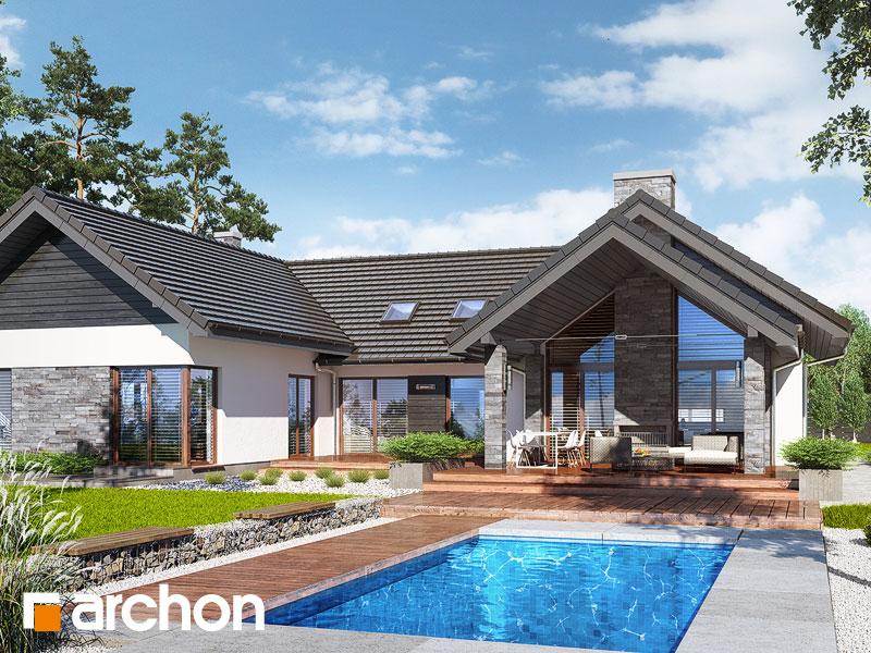 gotowy projekt Dom w kliwiach 4 (G2) widok 1