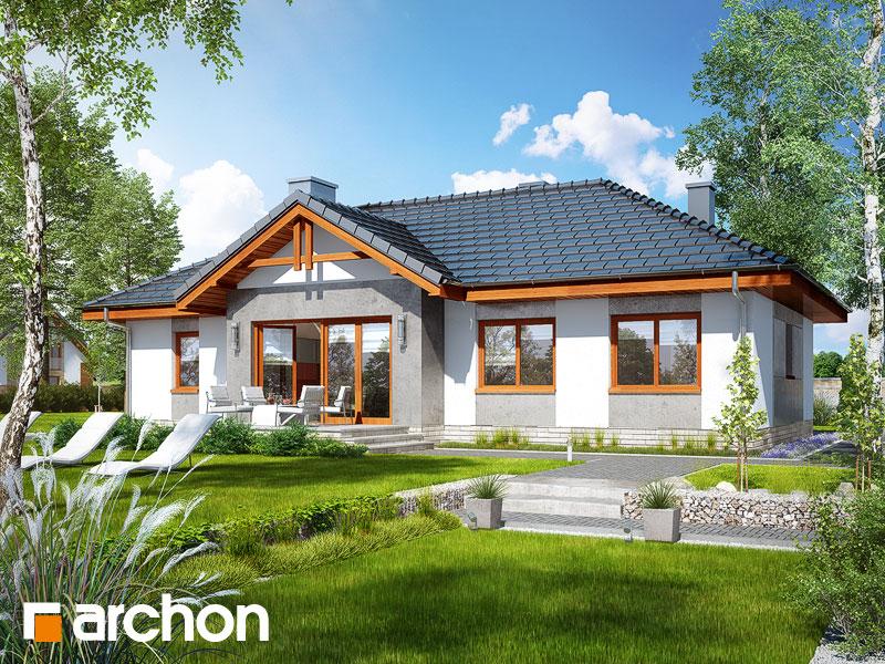 gotowy projekt Dom w nerinach 5 widok 2