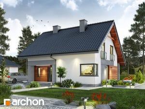 gotowy projekt Dom w malinówkach (T)