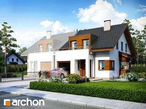 projekt Dom w klematisach 8 (B)