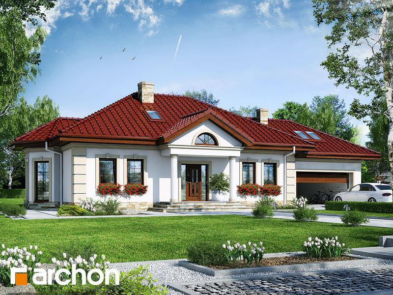 gotowy projekt Dom w mikołajkach 2 (G2) widok 1
