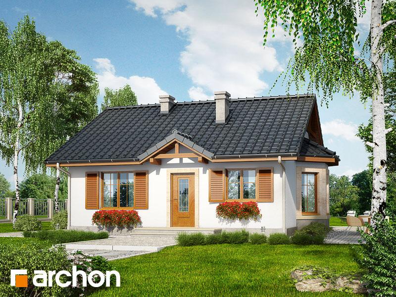 Projekt Domu Dom W Jagodach Archon