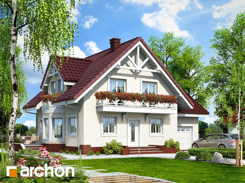 gotowy projekt Dom w tamaryszkach 6 widok 1