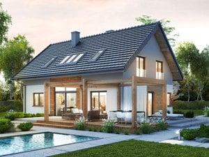 gotowy projekt Dom w silene