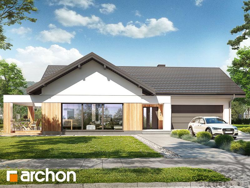 gotowy projekt Dom w lilakach 11 (G2) widok 1