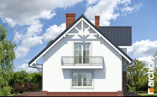 Elewacja boczna projekt dom w lucernie ver 3  265