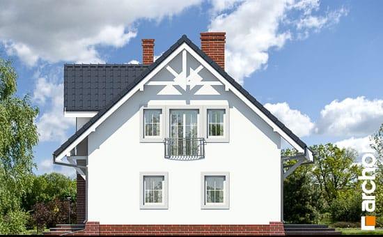 Elewacja boczna projekt dom w lucernie ver 3  266