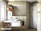 projekt Dom w lucernie Wizualizacja łazienki (wizualizacja 3 widok 1)