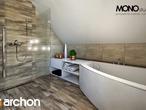 projekt Dom w lucernie Wizualizacja łazienki (wizualizacja 3 widok 2)