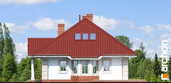 Elewacja boczna projekt dom pod jarzabem 2 ver 2  265