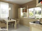 projekt Dom pod jarząbem 2 Aranżacja kuchni 1 widok 1