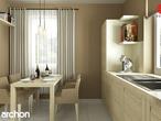 projekt Dom pod jarząbem 2 Aranżacja kuchni 1 widok 3