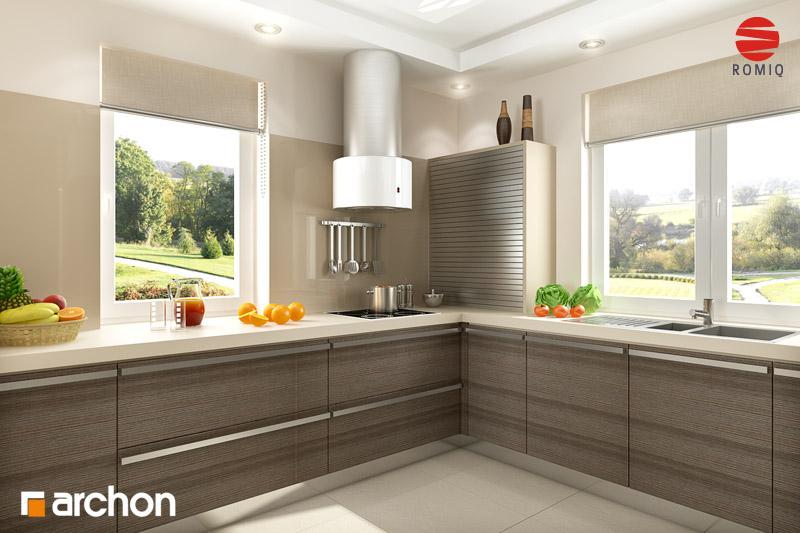 Projekt domu Dom pod jarząbem 2 ver 2  ARCHON+ -> Kuchnia Ikea Projekt Wycena Zamówienie Dostawa