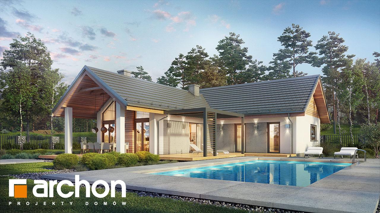 Projekt Domu Dom W Marzankach Archon