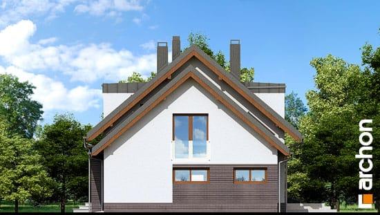 Elewacja boczna projekt dom w kardamonie 2 ver 2  265