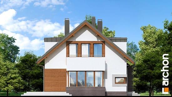 Elewacja boczna projekt dom w kardamonie 2 ver 2  266