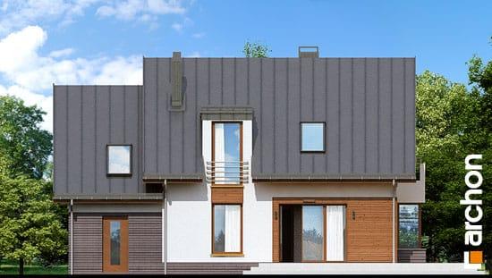 Elewacja ogrodowa projekt dom w kardamonie 2 ver 2  267
