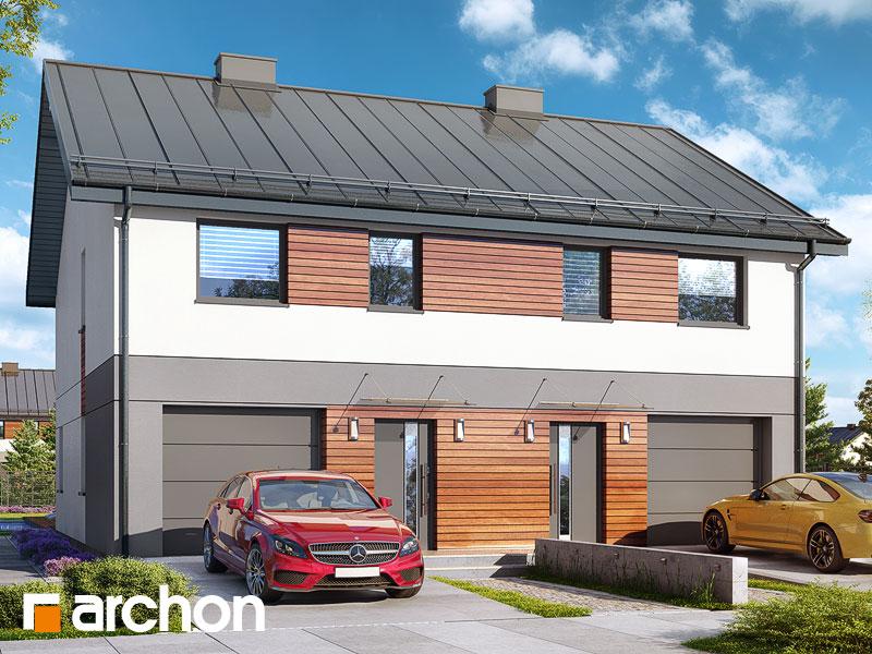 gotowy projekt Dom w riveach 3 (GR2) widok 1