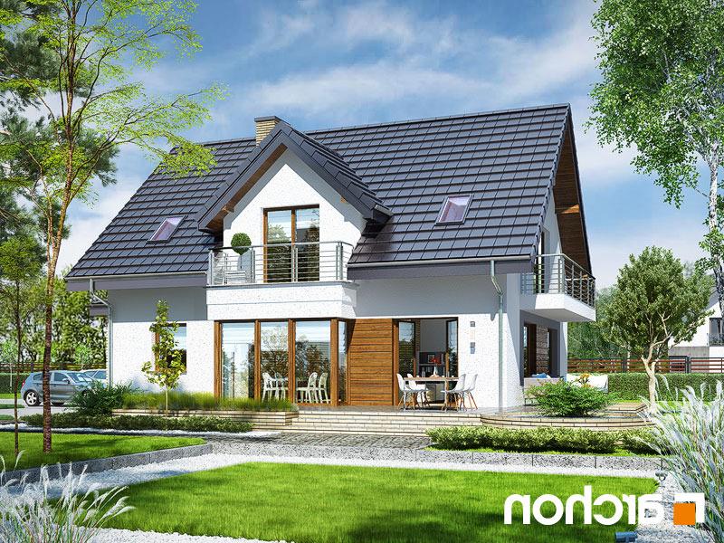 Lustrzane odbicie 2 projekt dom w swietliku g2n  290lo