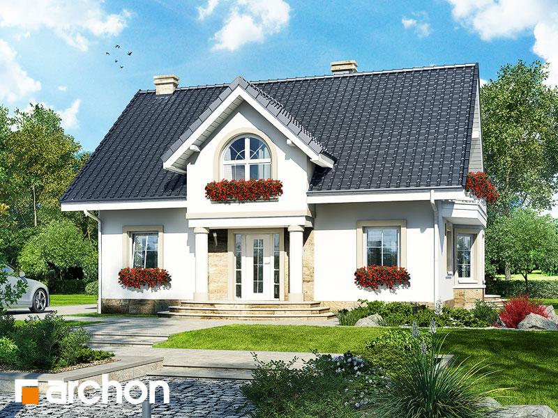Projekt Domu Dom W Mirabelkach P Archon