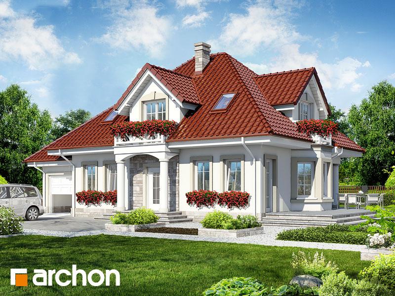 gotowy projekt Dom w lewkoniach widok 1