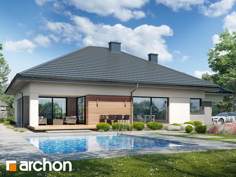 gotowy projekt Dom w nigellach 3 (G2) widok 2