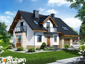 gotowy projekt Dom w rododendronach 15 (N)