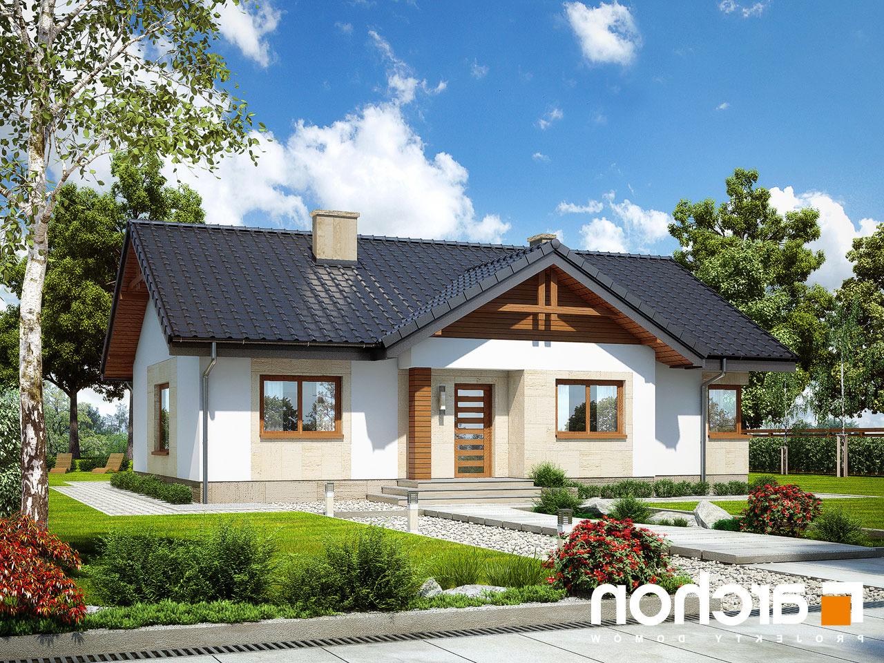 Projekt Domu Dom W Leszczynowcach T Archon