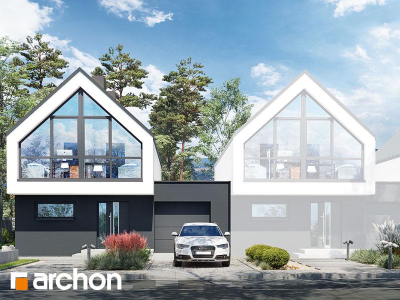 gotowy projekt Dom w muszkatach (B) widok 1