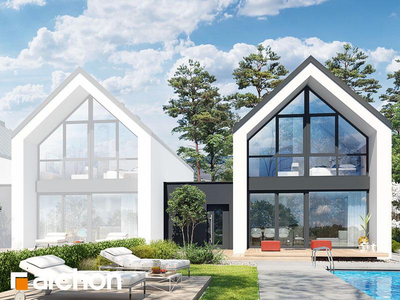gotowy projekt Dom w muszkatach (B) widok 2